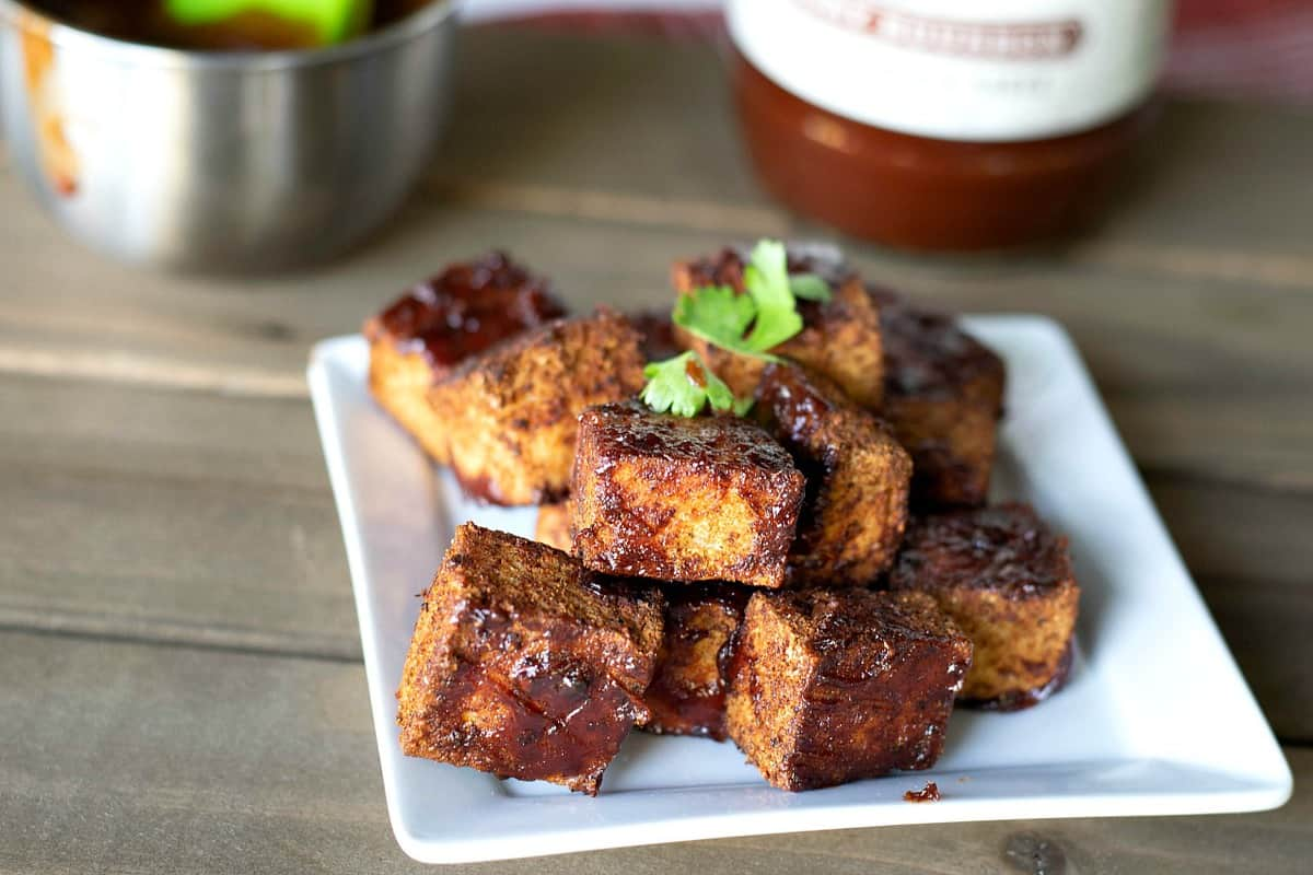 bbq tofu burnt ends