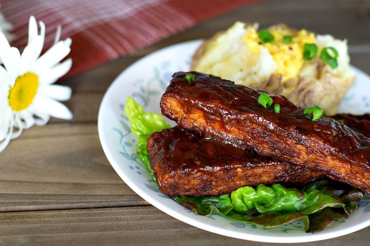 vegan ribs