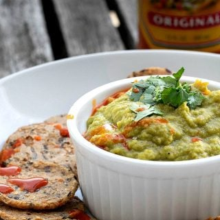 Green Chile Hummus