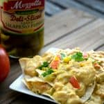 vegan green chile queso