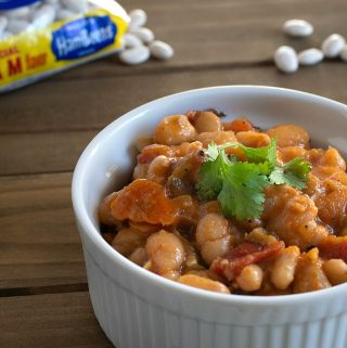 Vegan Ham and Bean Soup for the Instant Pot