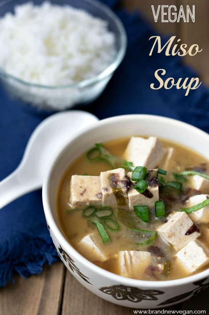 Miso Soup has been around for centuries, and is considered the ultimate comfort food for millions of people around the world. This week I tried my hand at making a very simple, but very tasty Vegan Miso Soup.