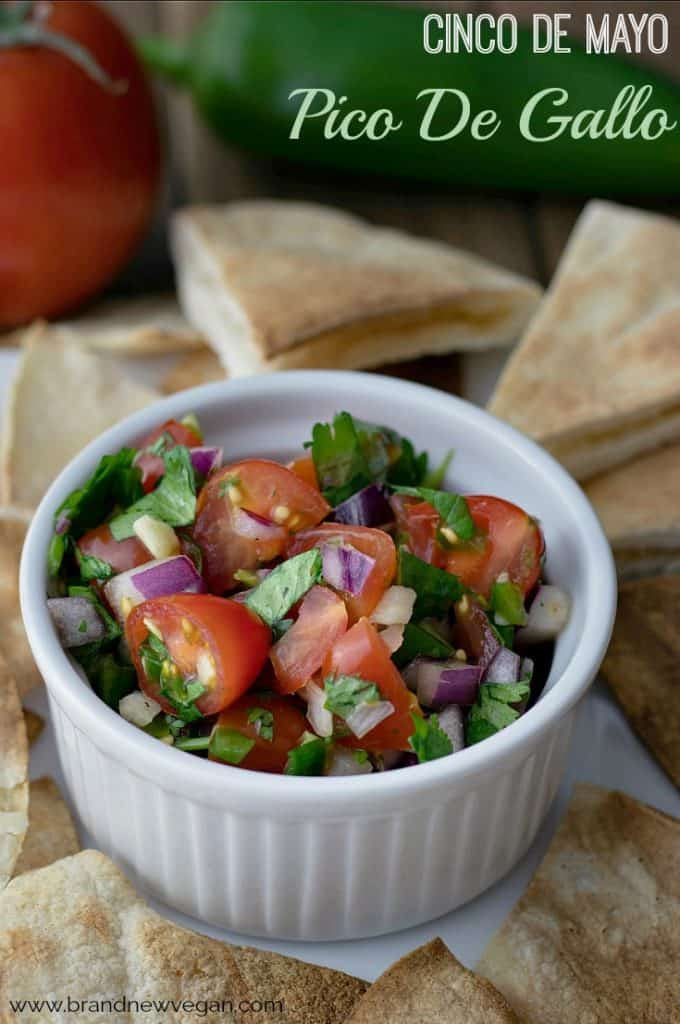 No bottled sauce or salsa comes close to the taste of something you made yourself with good, fresh, quality ingredients, like this Easy Pico de Gallo.