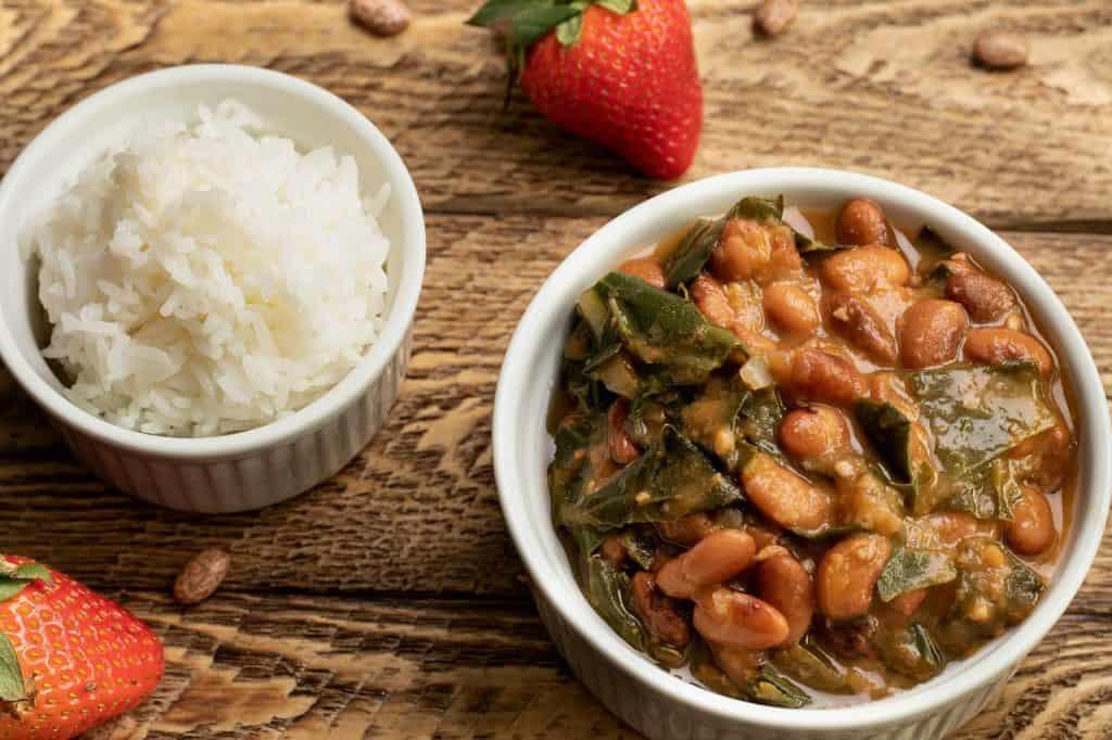 instant pot Beans 'n Greens