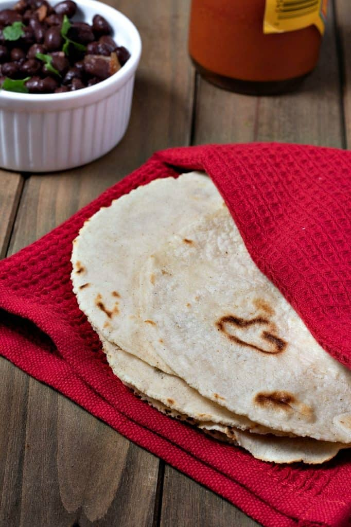 Homemade Corn Tortillas Brand New Vegan