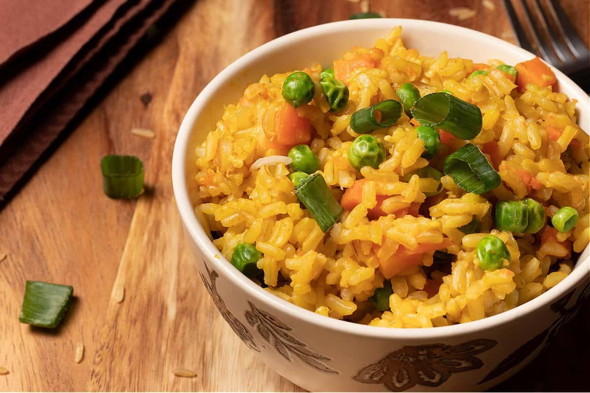 Perfect Instant Pot Veggie Rice