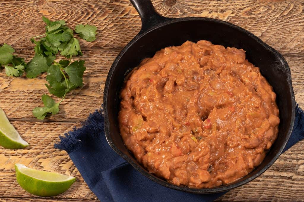 quick & easy fat-free refried beans