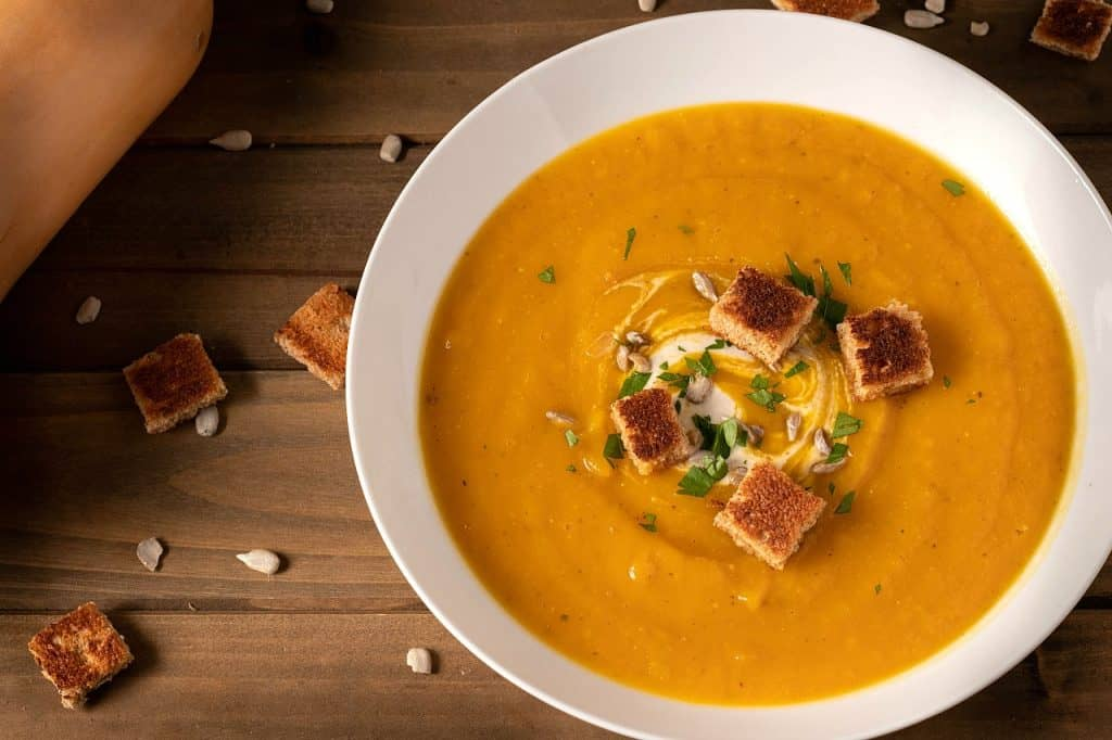 vegan butternut soup