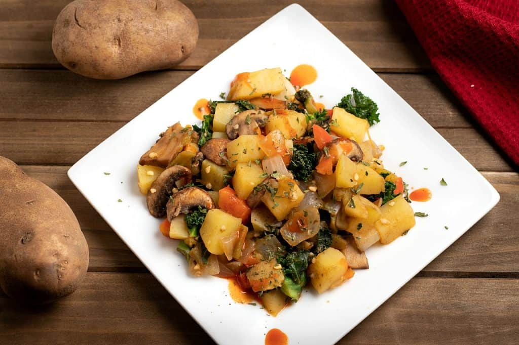 southwestern potato hash